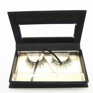 Own packaging 4 pairs magnetic boxes faux mink fake strip lashes