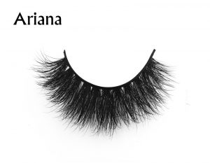 Creat own makeup brand Faux mink individual lashes for MUA