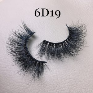 6D 20mm Mink lashes